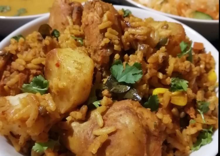 Chicken breyani