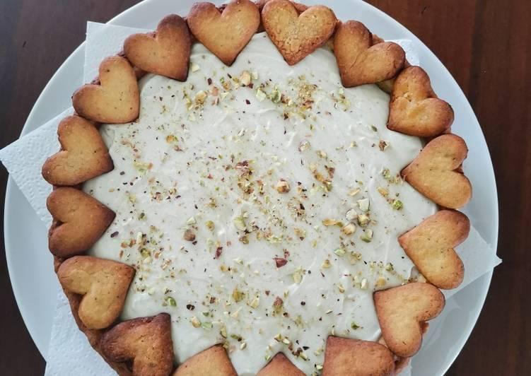 Ricetta Crostata al pistacchio e cioccolato bianco