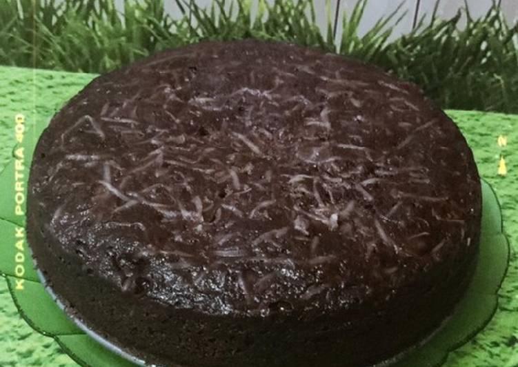 Brownies Kukus Chocolatos (No Mixer)