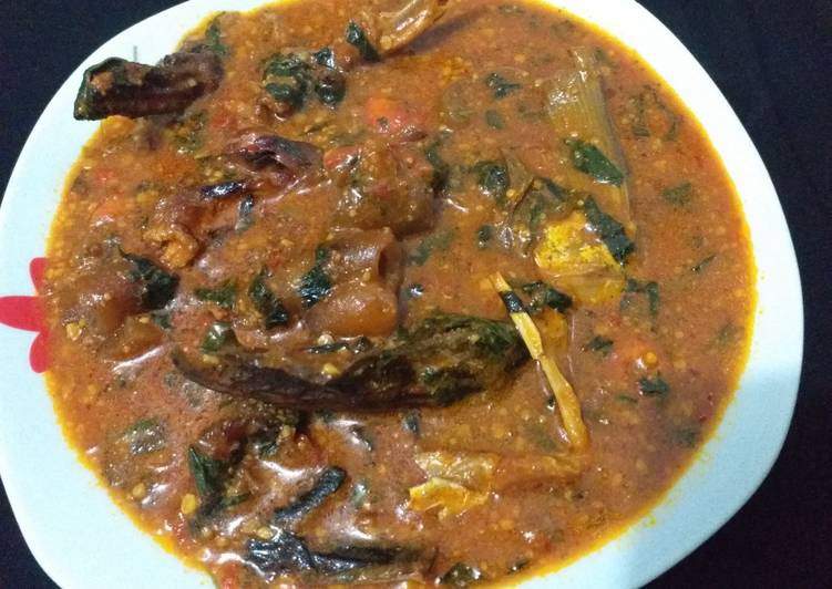 Simple Way to Make Perfect Ogbono soup