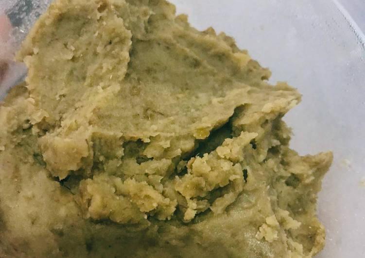 Resep Filling Roti/Bakpao: Kacang Ijo Utuh Paling Joss