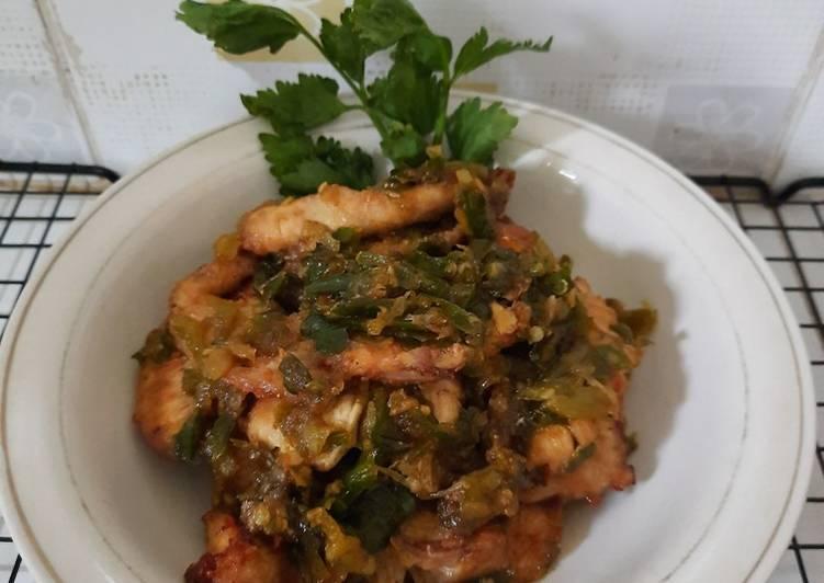 Dendeng Ayam Batokok