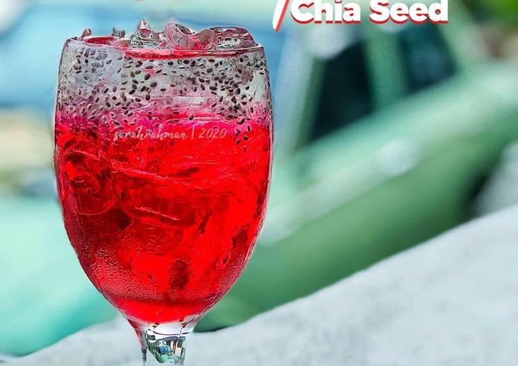 Sirap Chia Seed - resepipouler.com