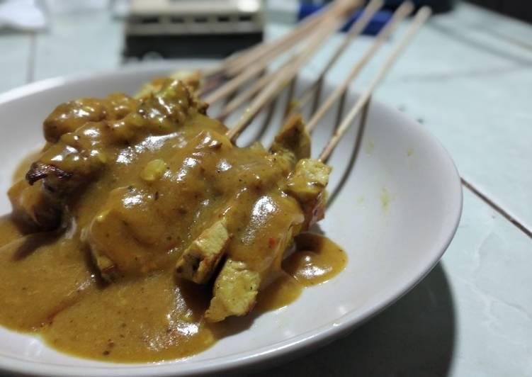 1. Sate Padang Ayam mudah