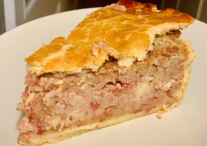 Cheat's Corned Beef Pie