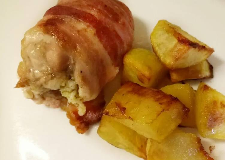 How to Make Appetizing Sage and onion stuffed chicken thighs