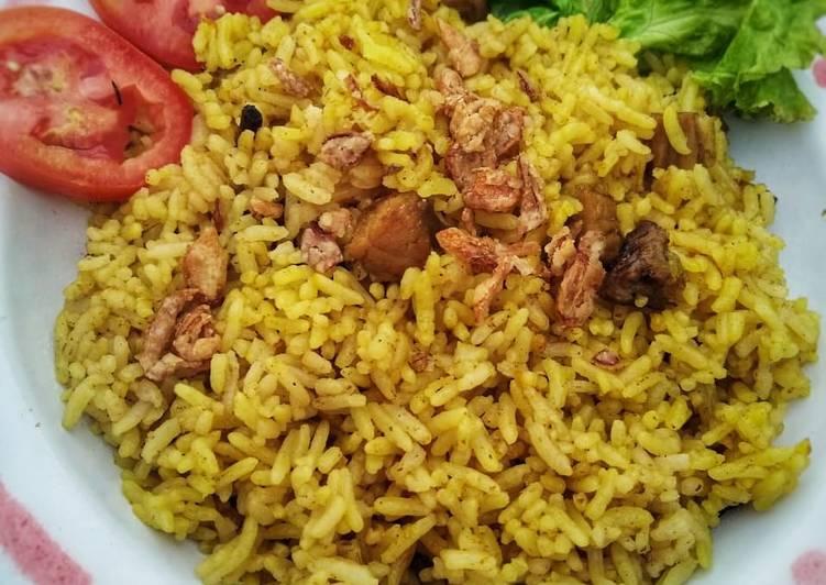 Nasi Kebuli Rice Cooker - cookandrecipe.com