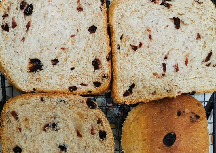 How to Prepare Super Quick Homemade Cranberries Wholemeal Loaf!