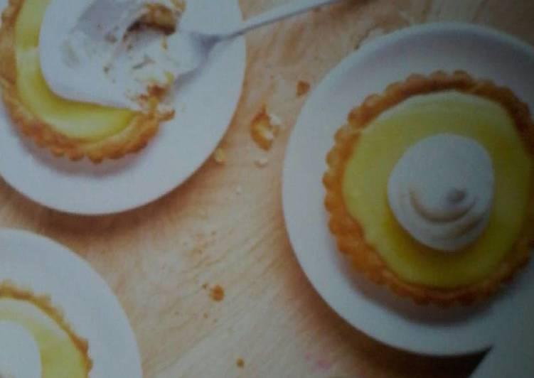 Moyen le plus simple pour Préparer Tous les soirs de la semaine Tartelettes au citron de menton
