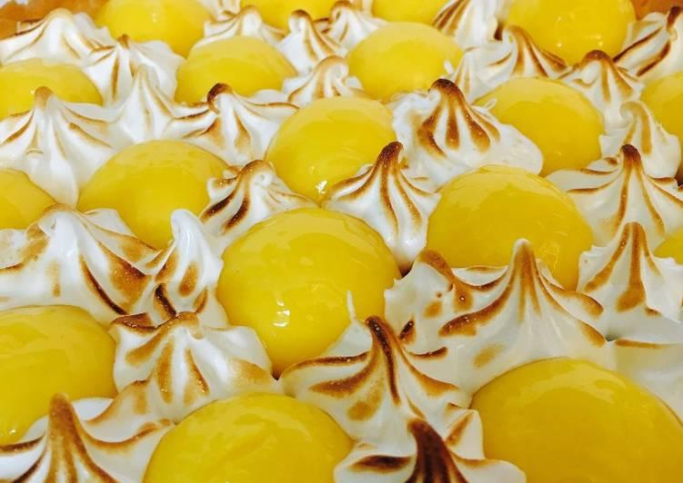 Comment Préparer Des Tarte au citron meringuée