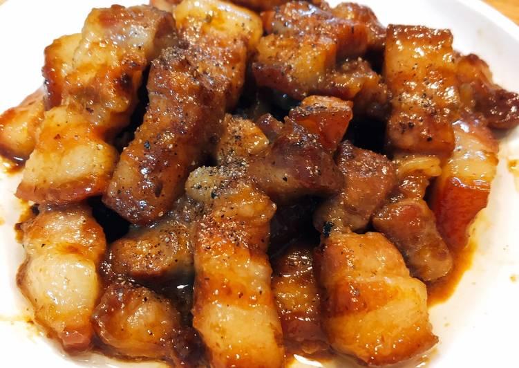 Cách Làm Món Thịt ba rọi kho tiêu của Tracee Le - Cookpad
