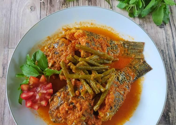 Pangek Ikan Nila khas Minang (Batusangkar)