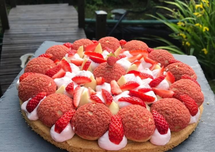 Comment Faire Des Tarte fraise rhubarbe 😋