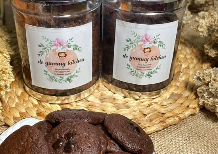 Resep Cookies coco chips yang Enak Banget