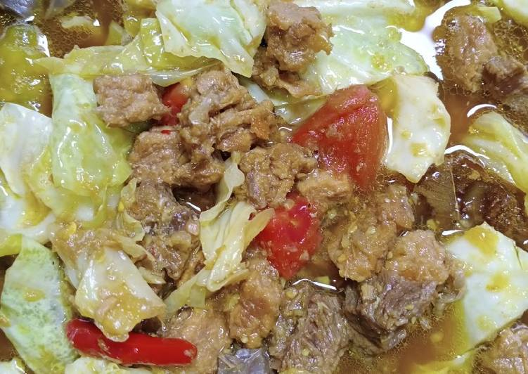 2.Tongseng sapi - cookandrecipe.com