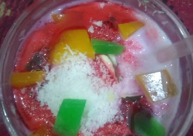 Easiest Way to Make Perfect Strawberry falooda