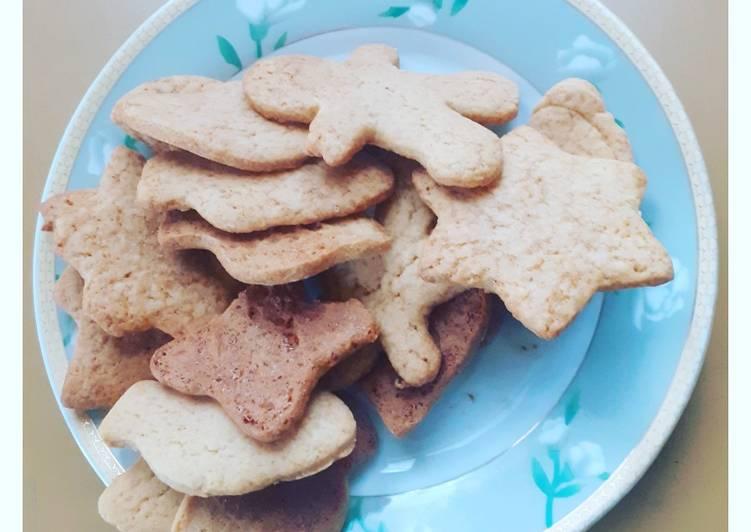 Biscotti golosi alle mandorle natalizi