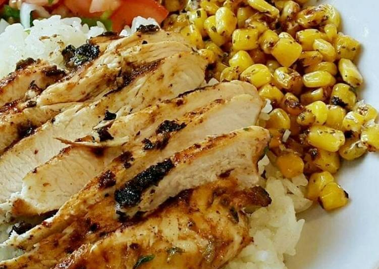 Mexican Chicken Rice Bowl