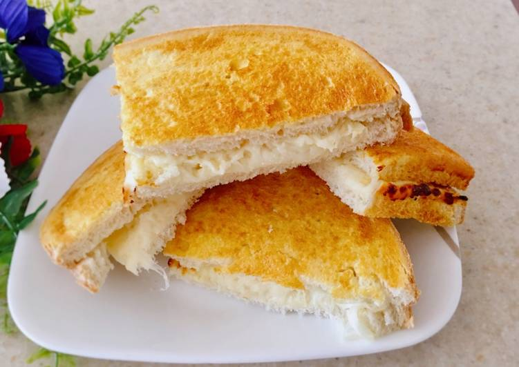 Step-by-Step Guide to Prepare Any-night-of-the-week Cheese Sandwich 🥪
