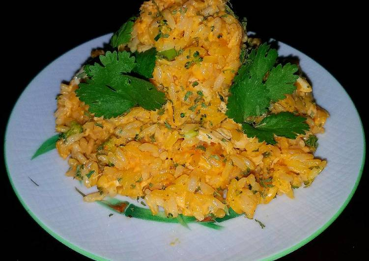 Mike's EZ Cheesy Chicken & Rice