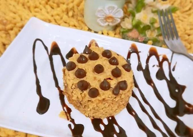 Easiest Way to Prepare Tasty Microwave giant chocolate chip cookie