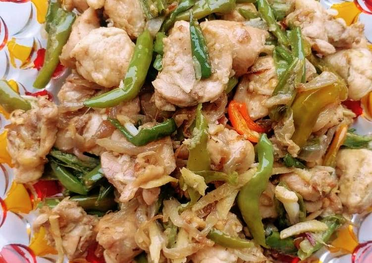Recipe: Appetizing Dry Chilli Chicken