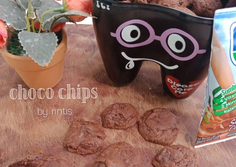 Choco Chips Kukis ala Good Time