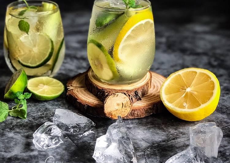 Air Detox Lebaran #maratonraya #minuman #minggu2 - resepipouler.com
