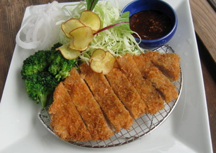 Step-by-Step Guide to Make Any-night-of-the-week Tonkatsu (Deep-fried Pork Cutlet)