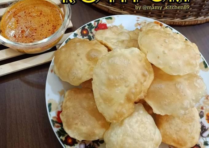 🥯 Roti Puri (poori)