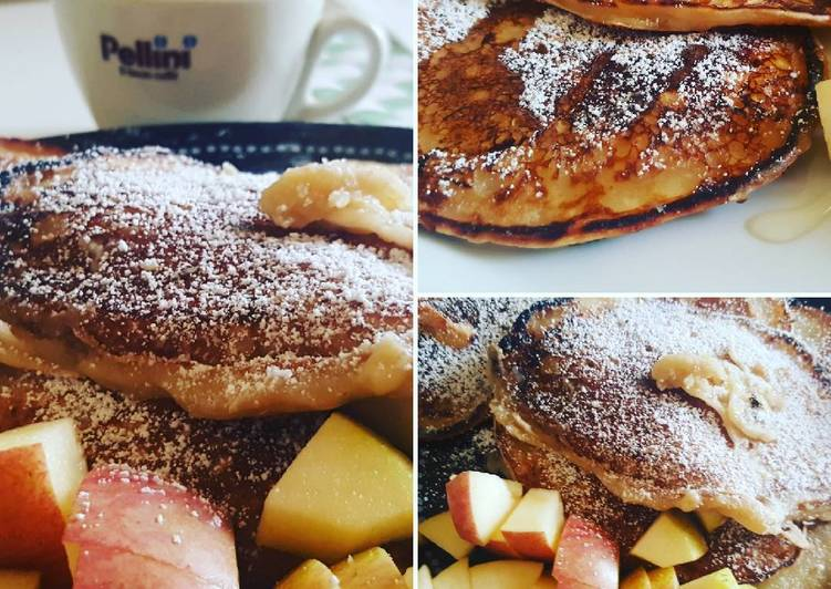 Banana pancakes senza uova