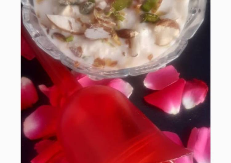 Recipe of Perfect Almond kesar milk