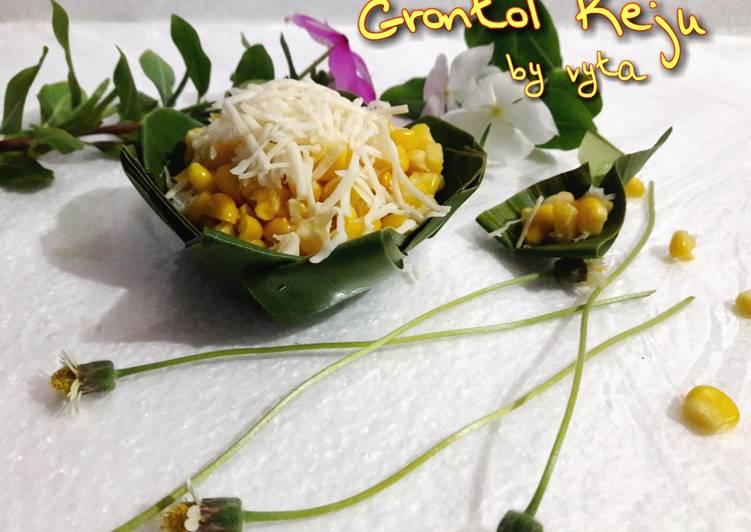 Grontol (Jagung) Keju