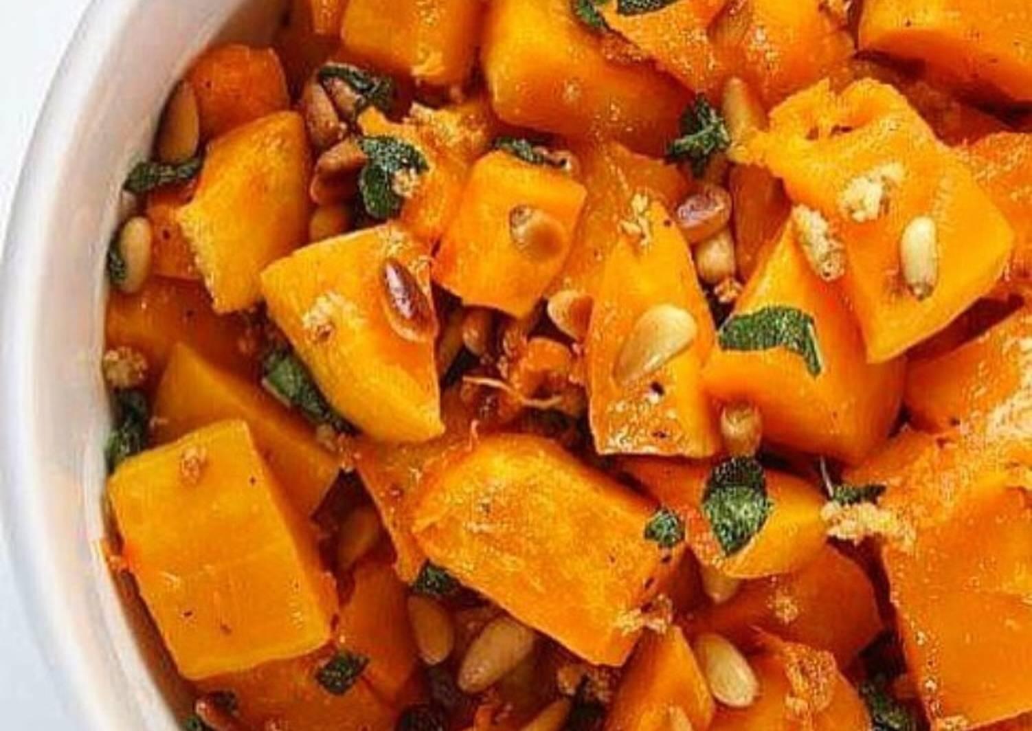 целях тыква в карамели рецепт с фото приготовления красивой закуски