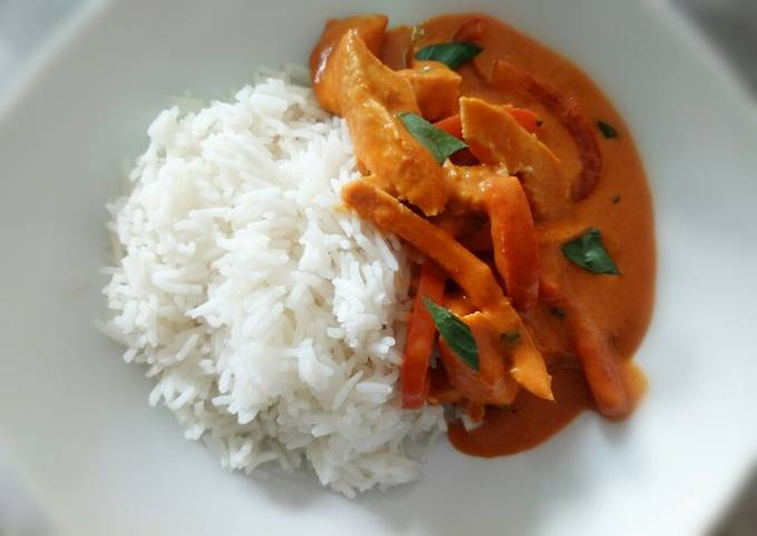 Fluffy's panang curry
