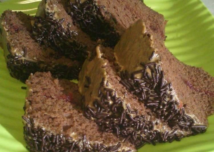 Bolu Kukus Nutrijell Coklat