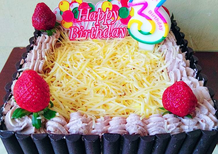 Resep 5 Kue Ulang Tahun Yg Simpel Mudah Oleh Fitri