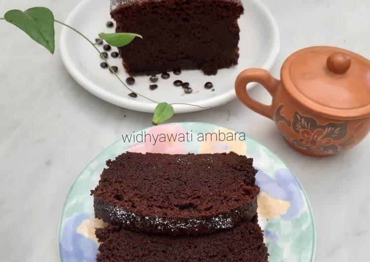 Cake Coklat Kukus (tanpa mixer)