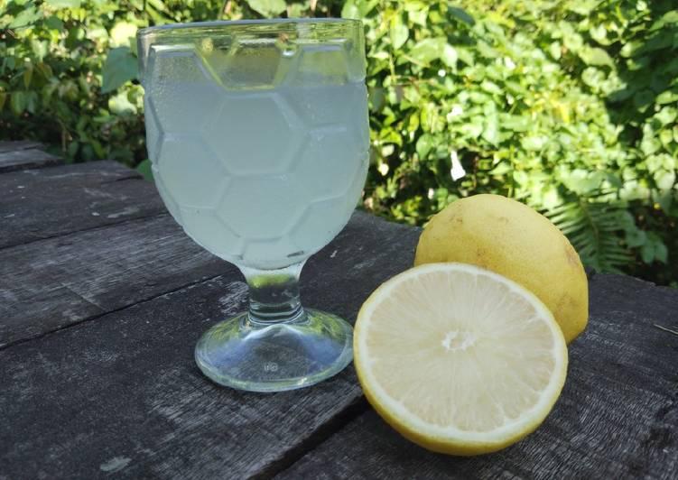 Bagaimana Membuat Sirup lemon, Lezat Sekali