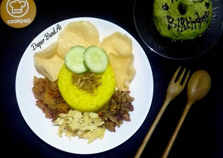Nasi Kuning Magicom - cookandrecipe.com