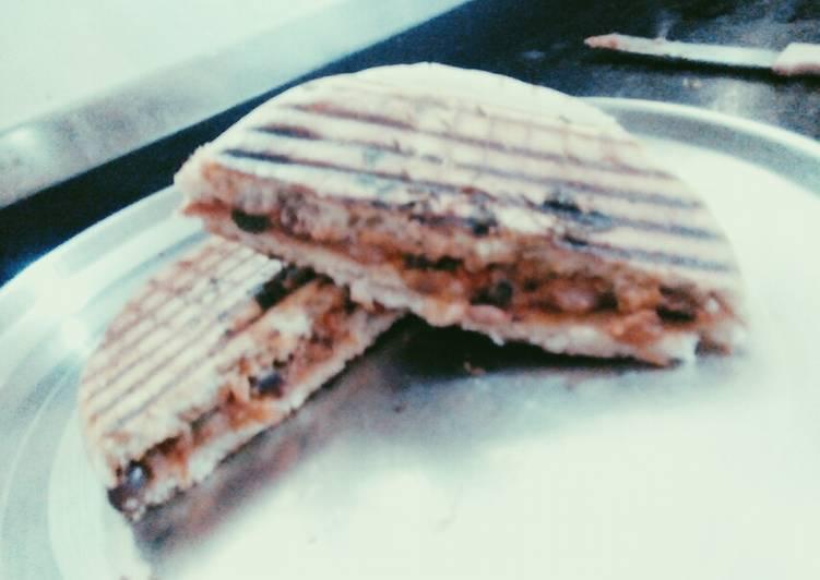 Stuff kulcha, sandwich