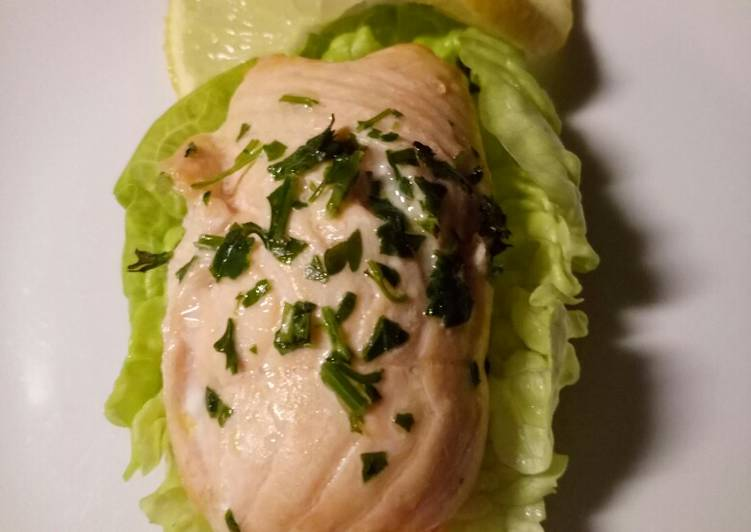 Easiest Way to Make Favorite Salmon rolls