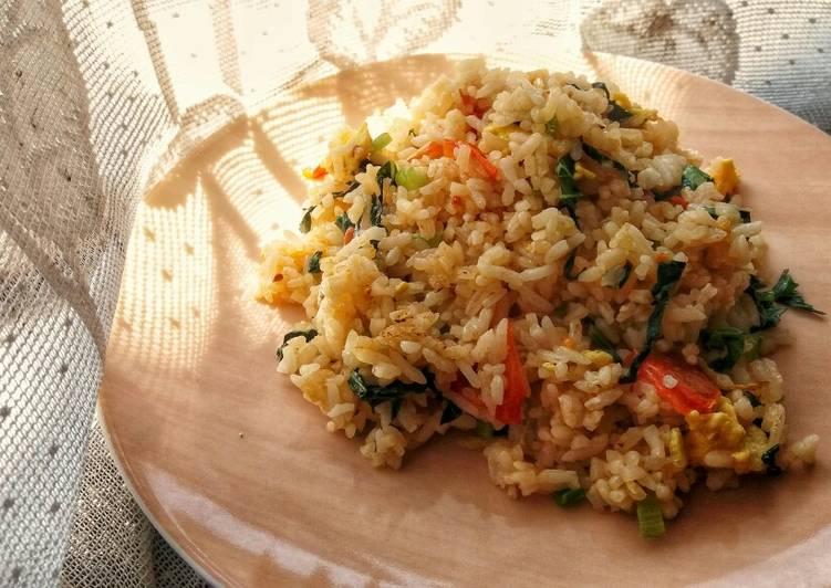 Nasi Goreng Sawi Tomat