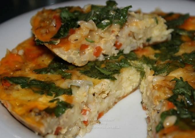 Risoni Omelette