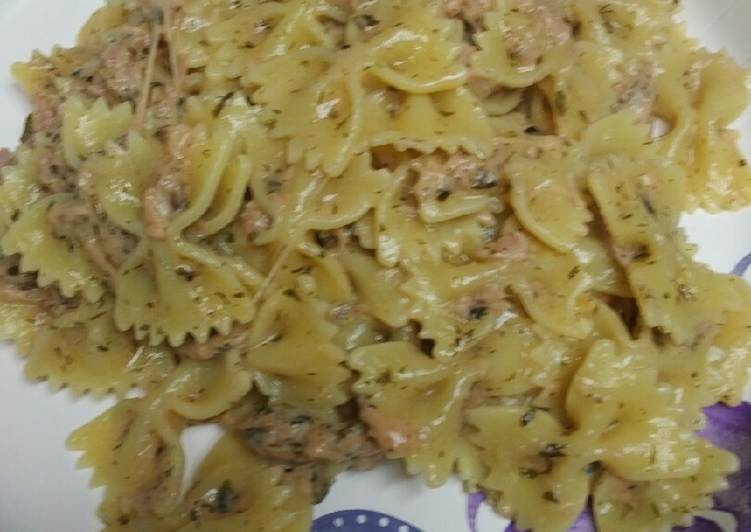 Recipe: Yummy Tuna and Pasta