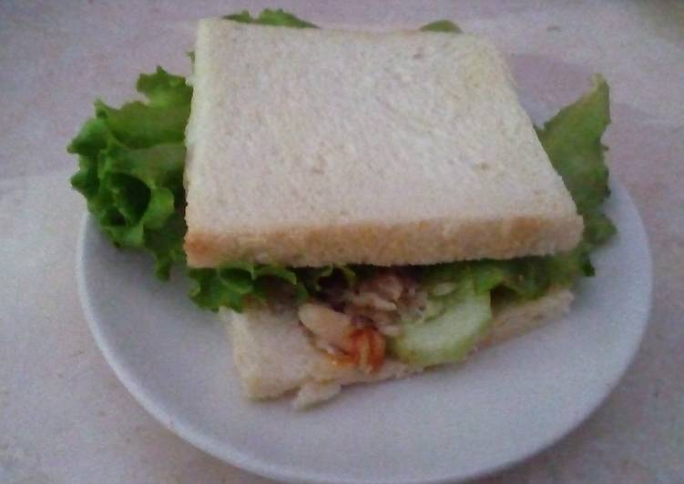 Recipe: Perfect Lunch w/ Sandwich