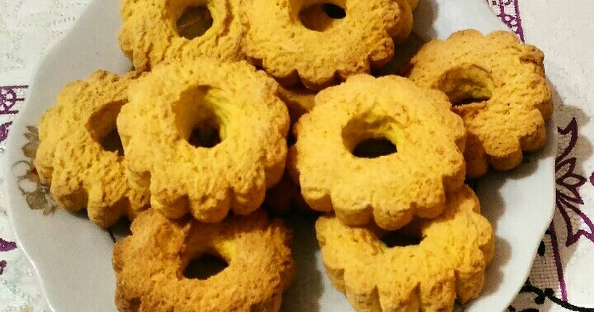 кукурузное печенье рецепт с фото четыре