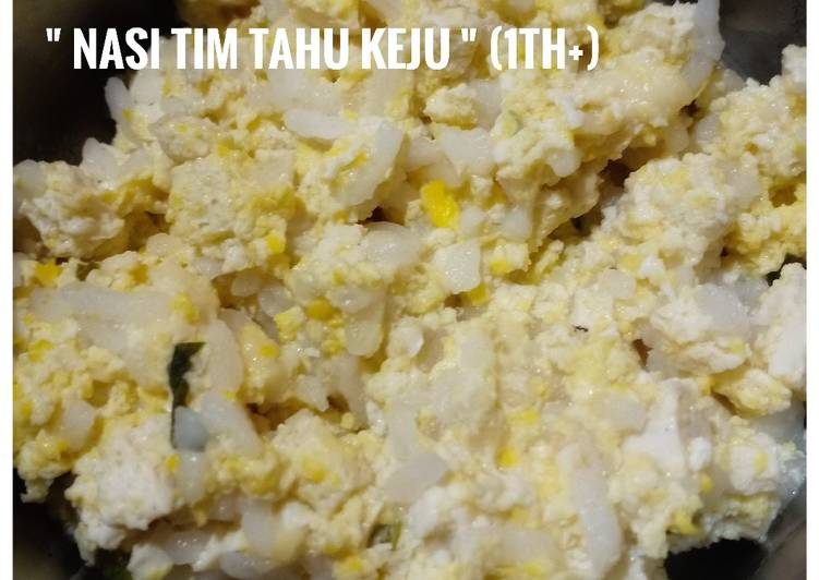Nasi Tim Tahu Keju (1th+)