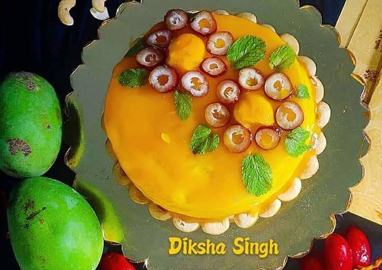 Top 100 Dinner Ideas Super Quick Homemade Mango Glaze Cake