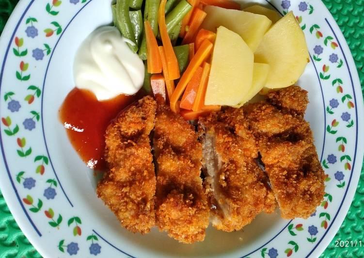 Chicken Katsu Ala Hokben
